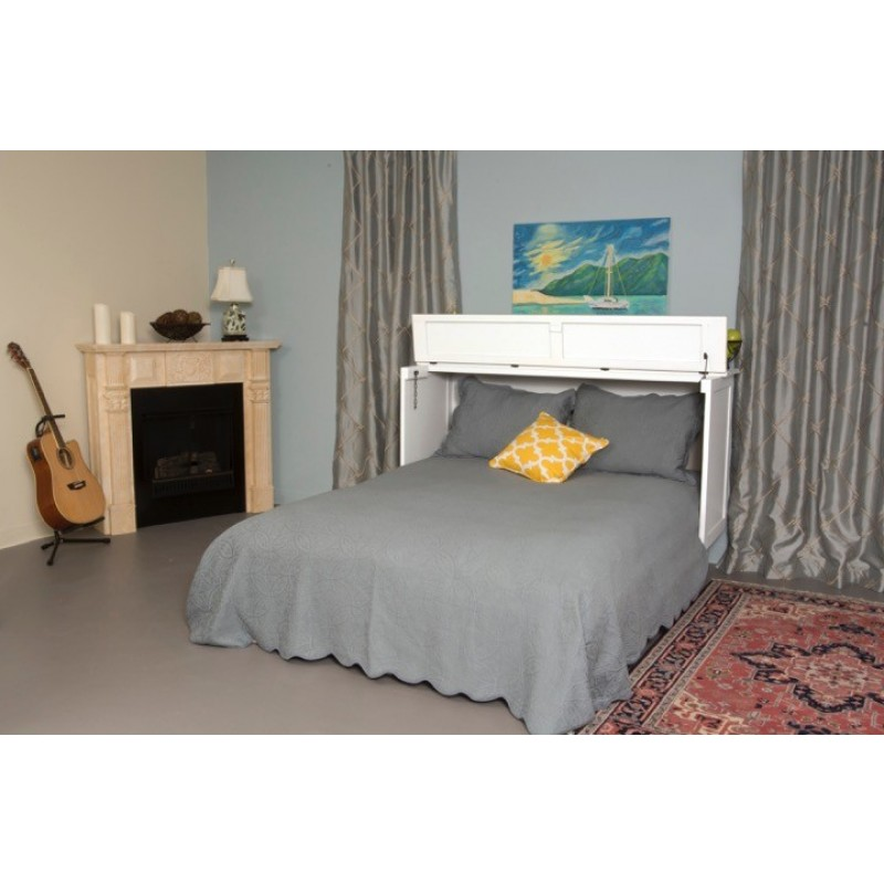 Arason Brussels Queen Charcoal Murphy Cabinet Bed