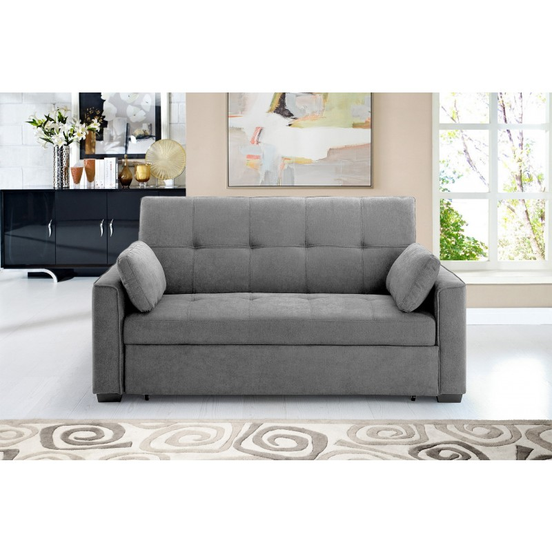 Cool Night And Day Nantucket Queen Sized Loveseat Sleeper Light Gray Gmtry Best Dining Table And Chair Ideas Images Gmtryco