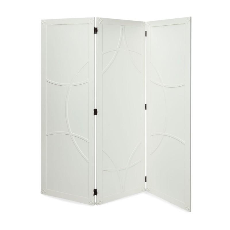White Brussels Room Divider